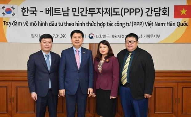 RoK shares experience with Vietnam in mobilising private capital hinh anh 1