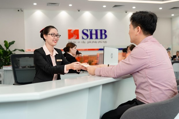 Commercial bank SHB's pre-tax profit surges 57 percent in Q2 hinh anh 1