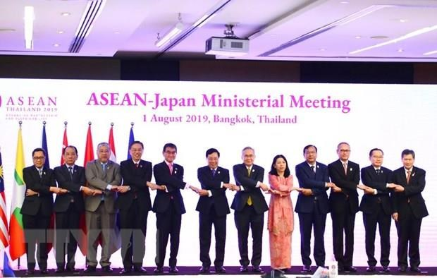 Vietnam co-chairs ASEAN-Japan Ministerial Meeting hinh anh 1