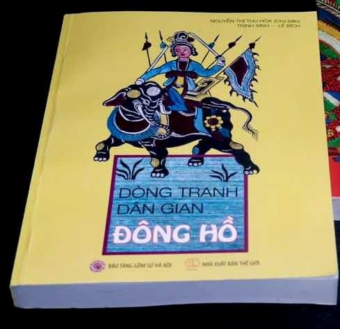 Colouring book features Dong Ho folk paintings hinh anh 1