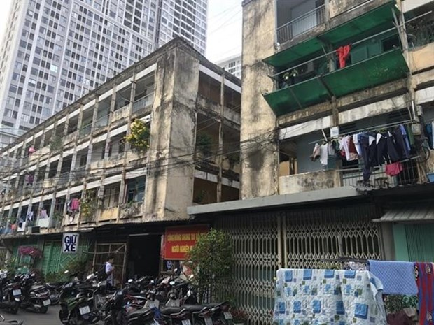 HCM City to renovate old buildings hinh anh 1