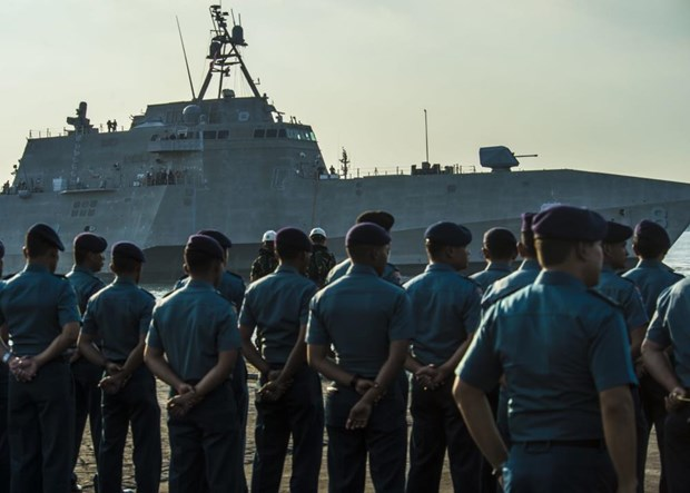 Indonesia, US begin annual joint naval exercise hinh anh 1