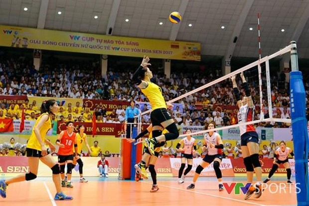 Quang Nam to host int'l women's volleyball tournament hinh anh 1