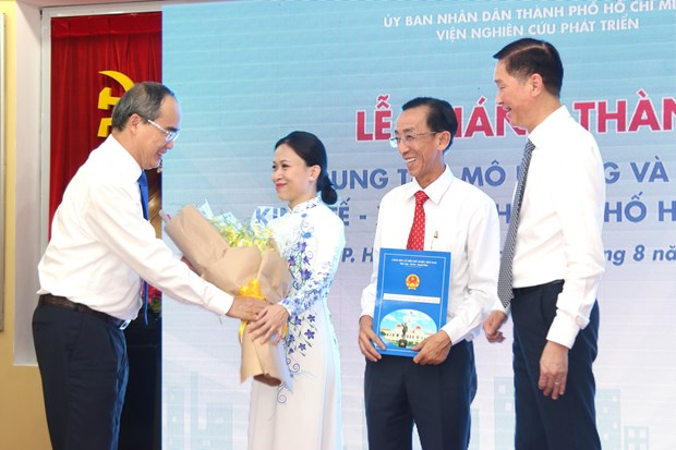 HCM City opens socio-economic simulation, forecast centre hinh anh 1