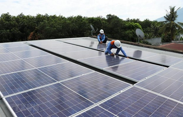 Germany assists Vietnamese households in developing solar power hinh anh 1