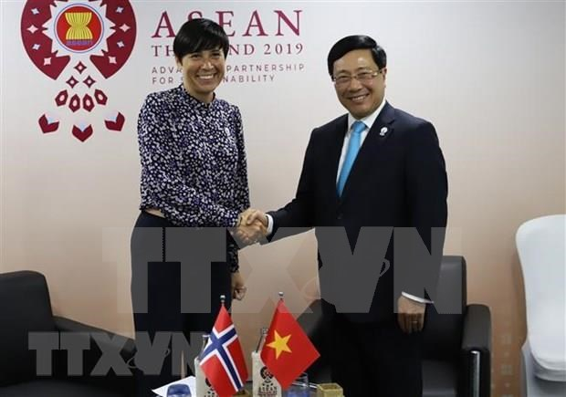 Vietnam active at multilateral, bilateral meetings within AMM-52 hinh anh 5