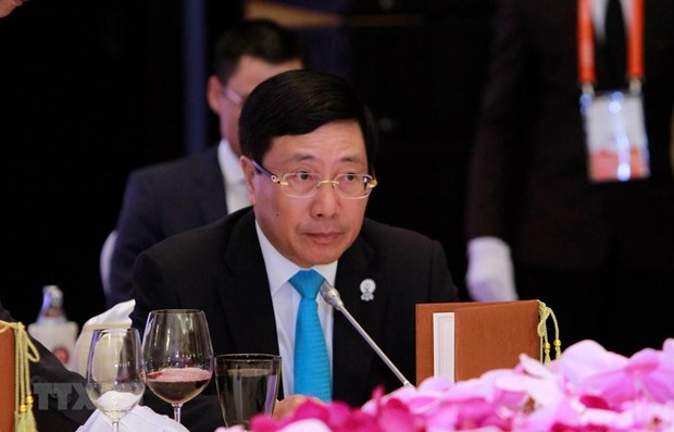 Vietnamese FM co-chairs 10th MGC Ministerial Meeting hinh anh 1