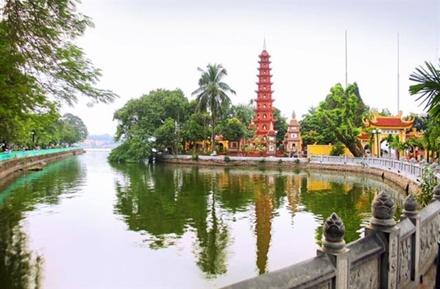 Two Vietnamese pagodas among some of world's most beautiful hinh anh 1