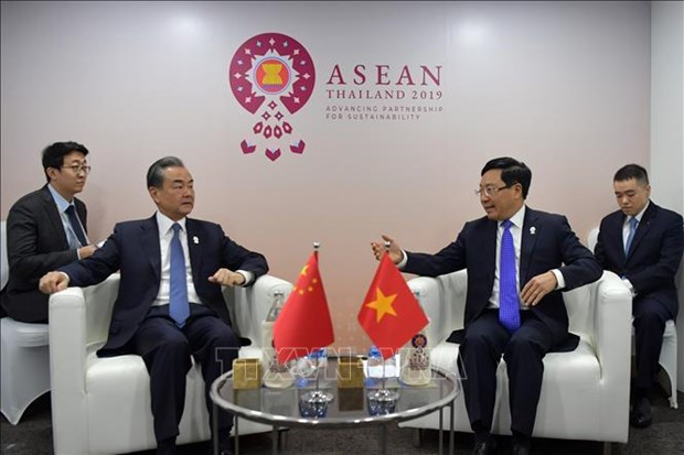 Vietnam vows to work for expanded ties between ASEAN and partners hinh anh 3