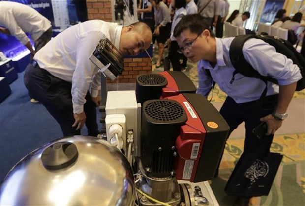 Denmark's pump products on display in Hanoi hinh anh 1
