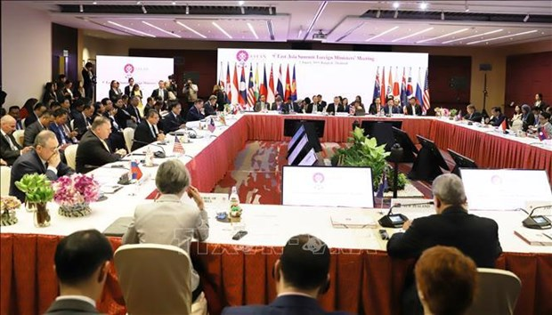 9th EAS Foreign Ministers' Meeting opens in Bangkok hinh anh 1