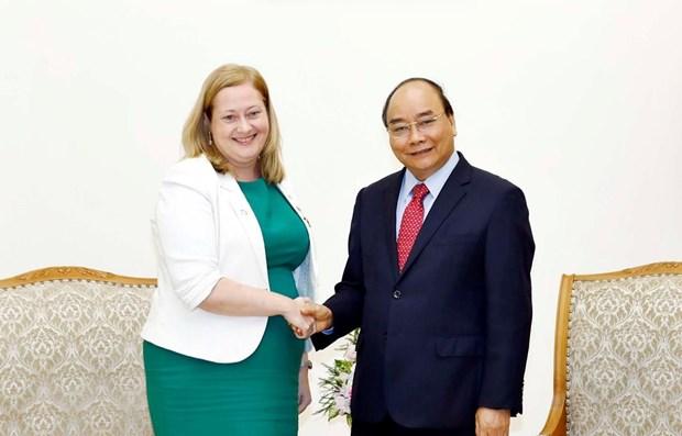 Vietnam treasures ties with Ireland: PM hinh anh 1