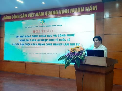MARD boosts science and technology in agriculture hinh anh 1