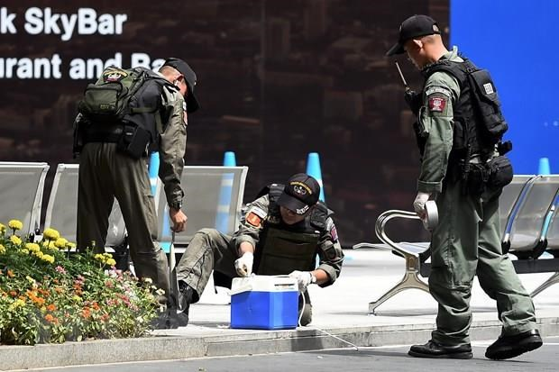 Bombing incidents disturb Bangkok on August 2 hinh anh 1