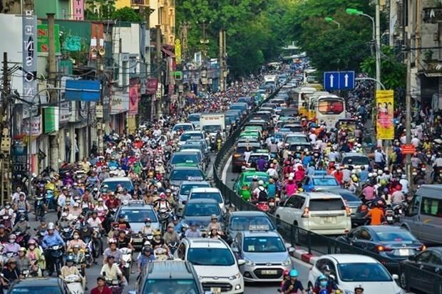Hanoi develops digital traffic map to ease congestion hinh anh 1