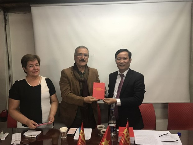 Vietnamese, Colombian communist parties boost cooperation hinh anh 1