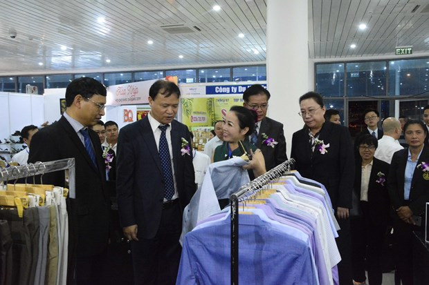 Int'l East-West Economic Corridor trade fair opens in Da Nang hinh anh 1