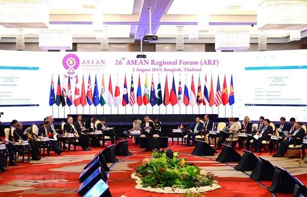 Vietnam attends 26th ASEAN Region Forum hinh anh 1