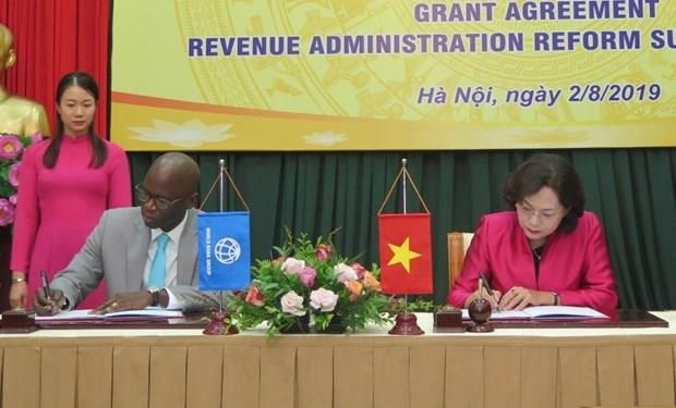 WB, Japan help Vietnam improve taxation management hinh anh 1