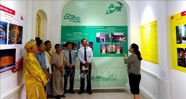 Worshipping of Mother Goddess exhibition opens in Hue hinh anh 1