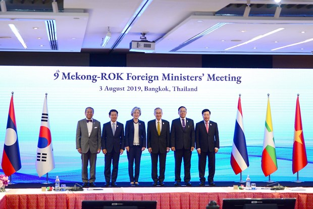 Mekong, RoK foreign ministers gather at Bangkok meeting hinh anh 1