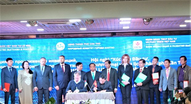 Can Tho city works to foster economic ties with Russia hinh anh 1