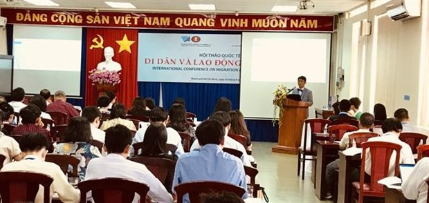 Protection of migrants' rights highlighted at Ho Chi Minh City conference hinh anh 1