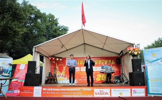 Vietnamese beer joins int'l beer festival in Berlin hinh anh 1