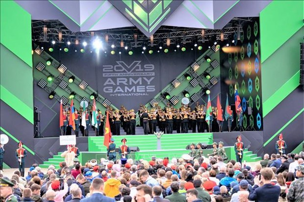 Vietnam attends International Army Games in Russia hinh anh 1