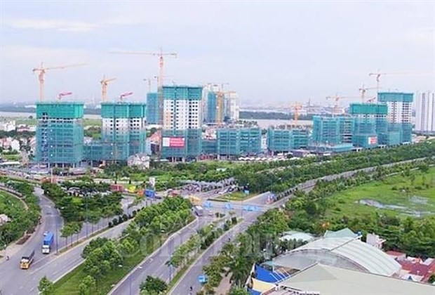 HCM City's estate market expected positive growth hinh anh 1