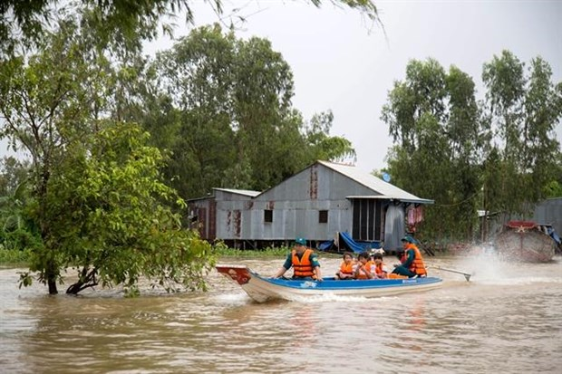 Mekong Delta forecast to have small floods this year hinh anh 1