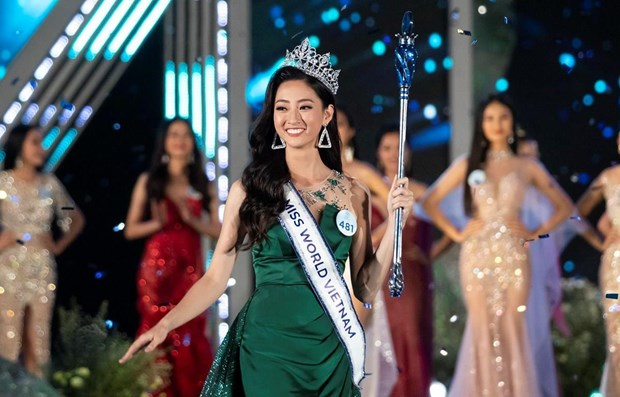 Luong Thuy Linh becomes Miss World Vietnam 2019 hinh anh 1