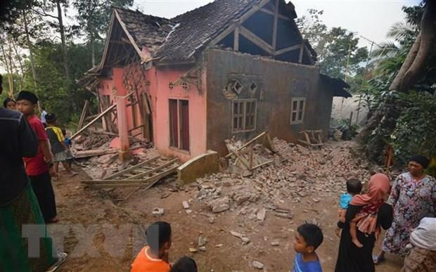 Five killed in 6.9-magnitude quake in Indonesia hinh anh 1