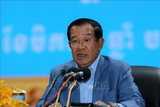 Cambodian Prime Minister calls for joint efforts to combat terrorism hinh anh 1