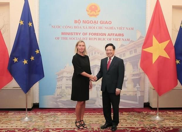 EU aims to step up cooperation with Vietnam hinh anh 1