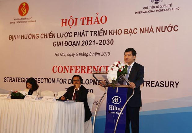 State Treasury looks to go more digital hinh anh 1