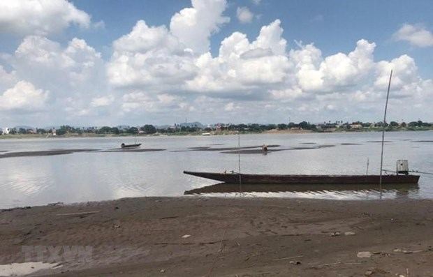 Thailand: Mekong water level rising, but still very low hinh anh 1