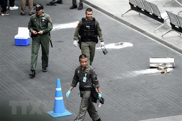 Thailand hunts down over 10 suspects in bomb attacks hinh anh 1