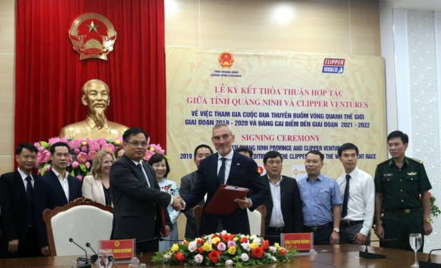 Quang Ninh signs pact to partake in global sailing race hinh anh 1