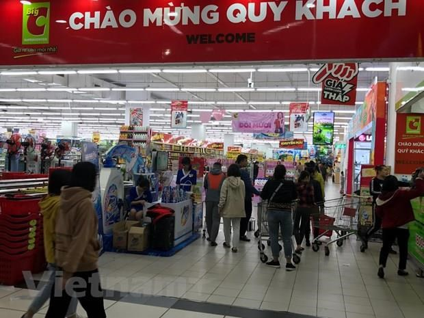 Vietnam's retail sales reach 120.36 billion USD in seven months hinh anh 1