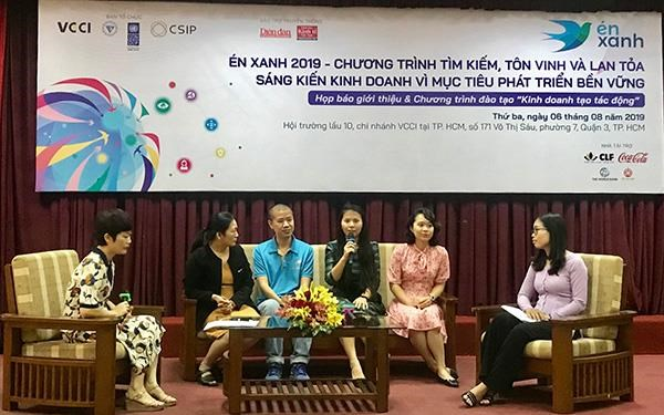 'Blue Swallow' seeks business initiatives for sustainable development hinh anh 1