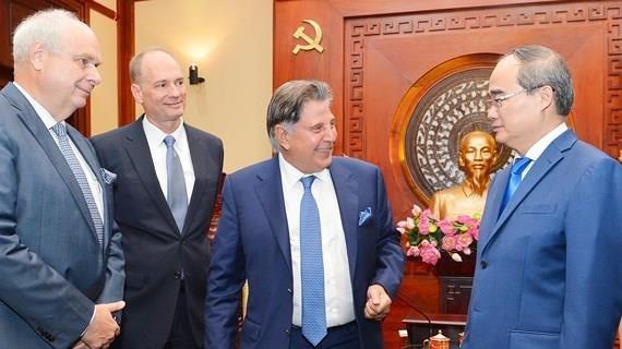 HCM City leader welcomes German investors hinh anh 1