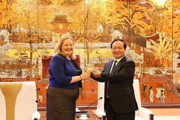 Hanoi always creates optimal conditions for Irish investors: official hinh anh 1