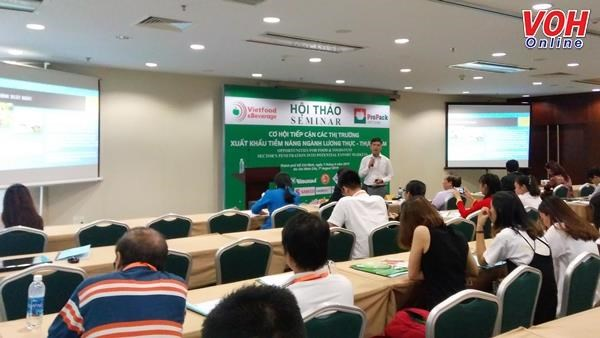 Businesses seek ways to boost food export hinh anh 1