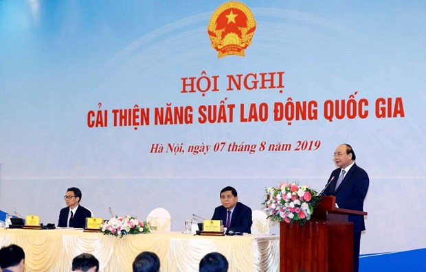 PM launches national labour productivity movement hinh anh 1