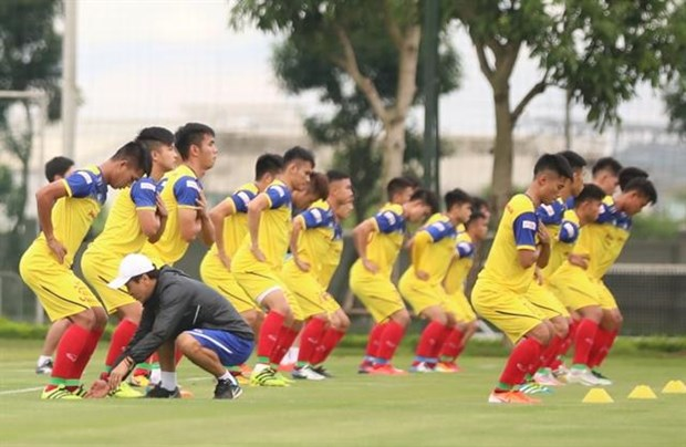U22 national football team schedules friendly against Kitchee SC hinh anh 1