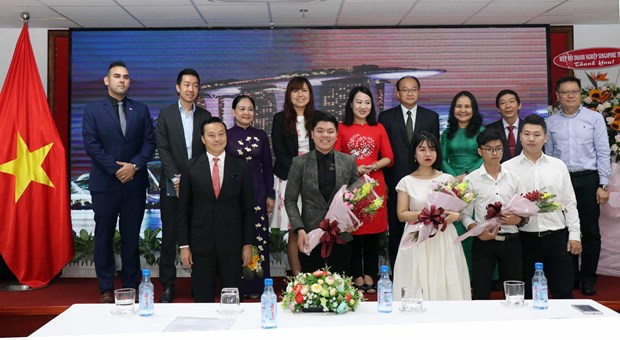 Singapore's National Day marked in HCM City hinh anh 1
