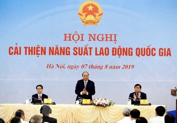 PM chairs conference on national labour productivity hinh anh 1