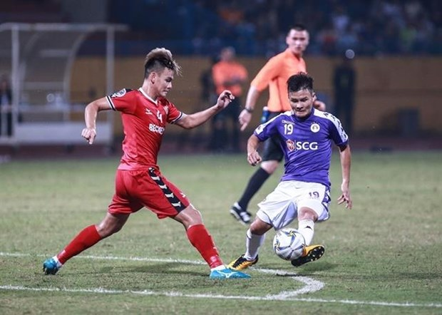 Hanoi FC advance to AFC Cup 2019 inter-zone semi-finals hinh anh 1