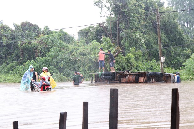 Heavy rain, flooding cause losses in Dak Lak province hinh anh 1